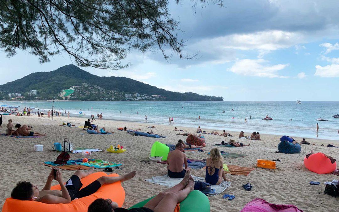 Beachclubs auf Phuket in Thailand