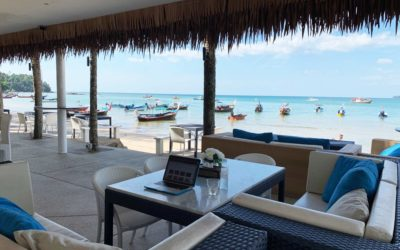 Beachclub BLUESIAM auf Phuket in Thailand