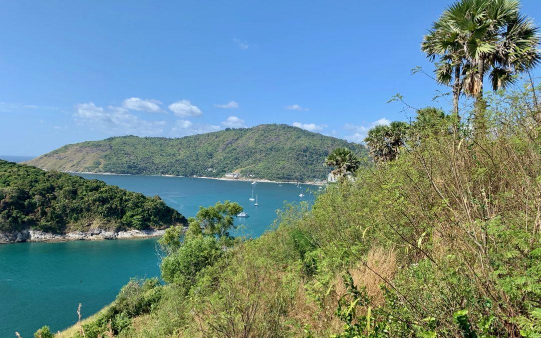 Promthep Viewpoint auf Phuket in Thailand