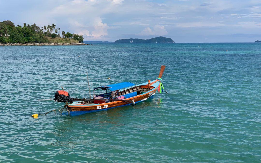 Rawai Beach auf Phuket in Thailand