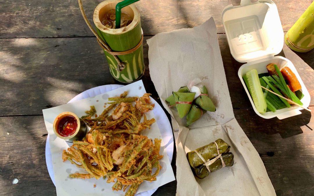 Long Kae Markt auf Phuket in Thailand