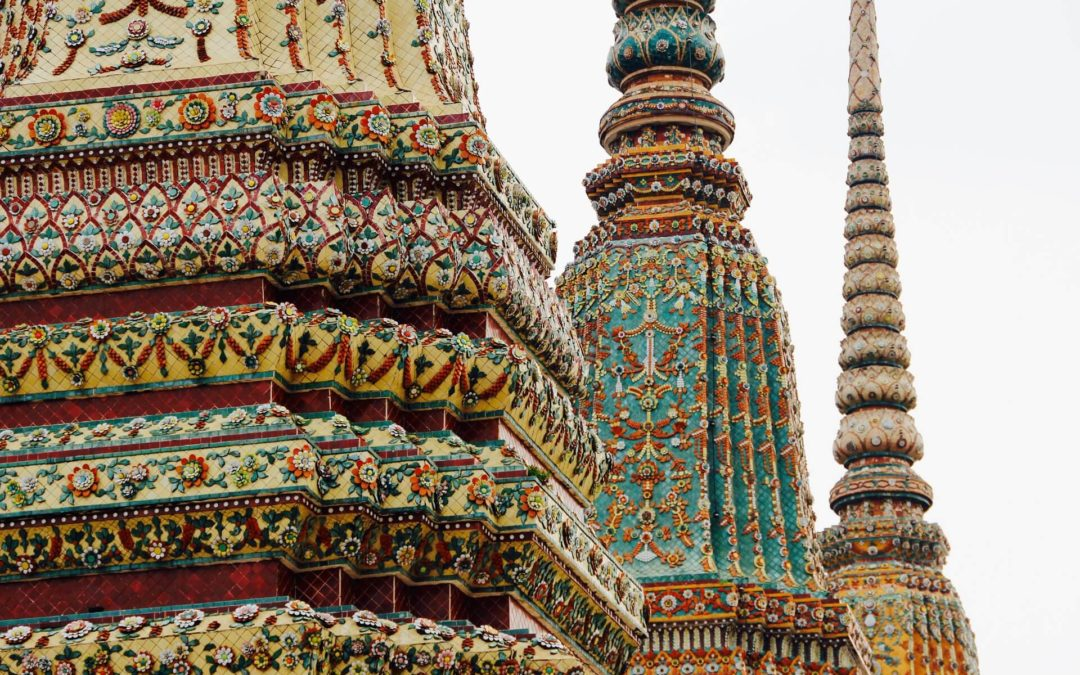 Tempelbesuche in Thailand