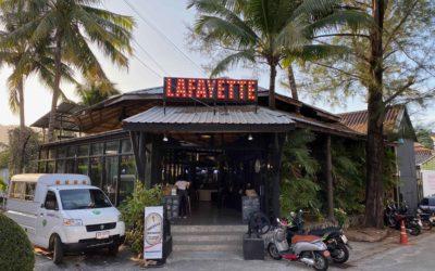 Französisches Restaurant in Kamala Phuket